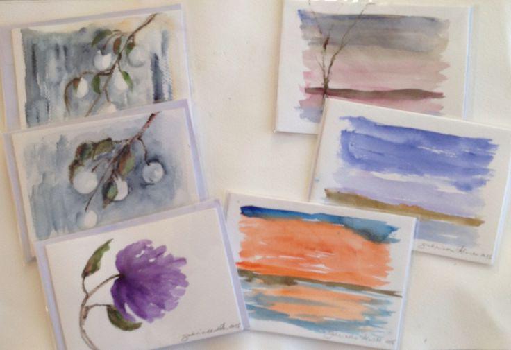 Watercolorcards 2015, Gabriella Alanko