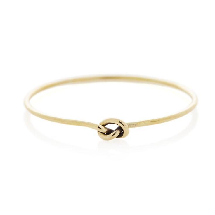 Brass knot bangle | Dear Rae  | Online shop