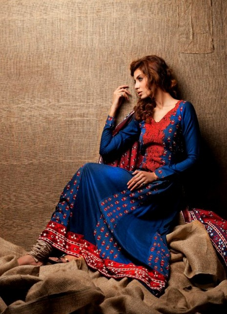 Embroidered Linen Collection 2013 by Shariq Textiles | Fashion Pakistan, Pakistani Fashion, Pakistani Fashion Designers,