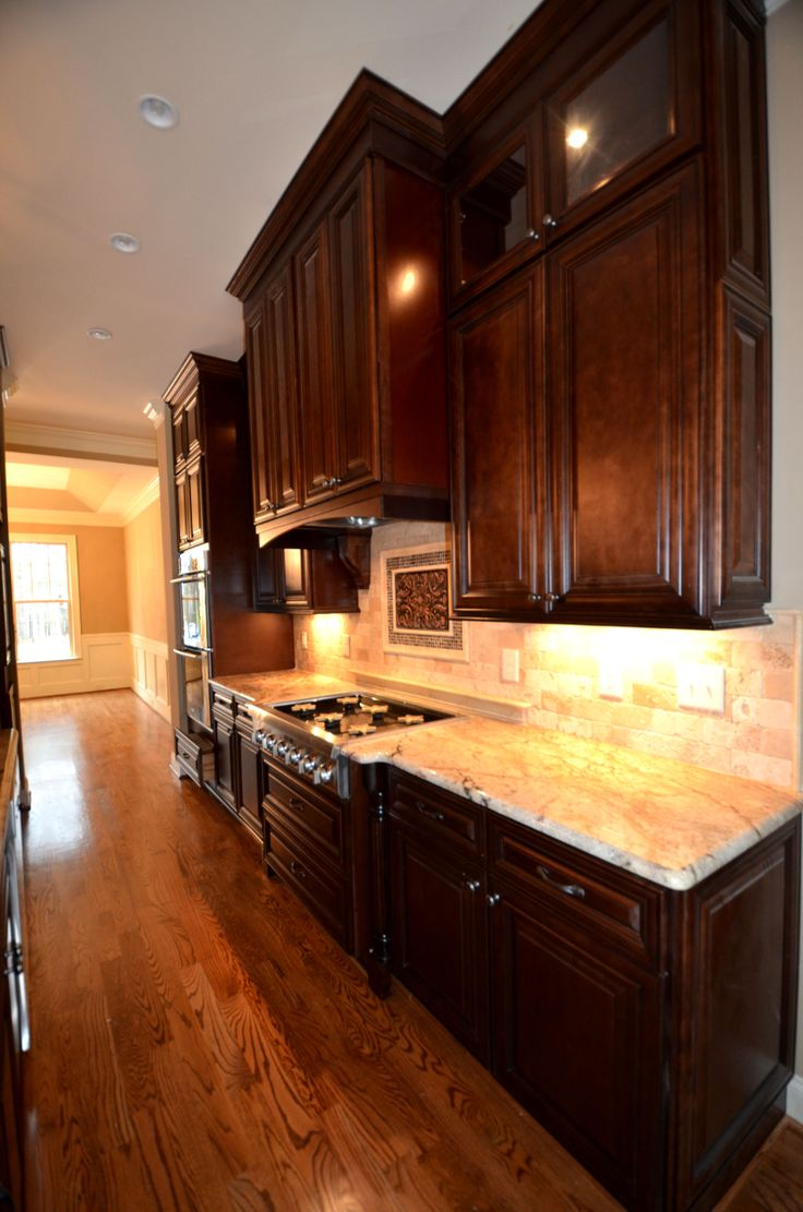 Stapp Kitchen1 Bristol Chocolate kitchen @Lily Ann Cabinets com
