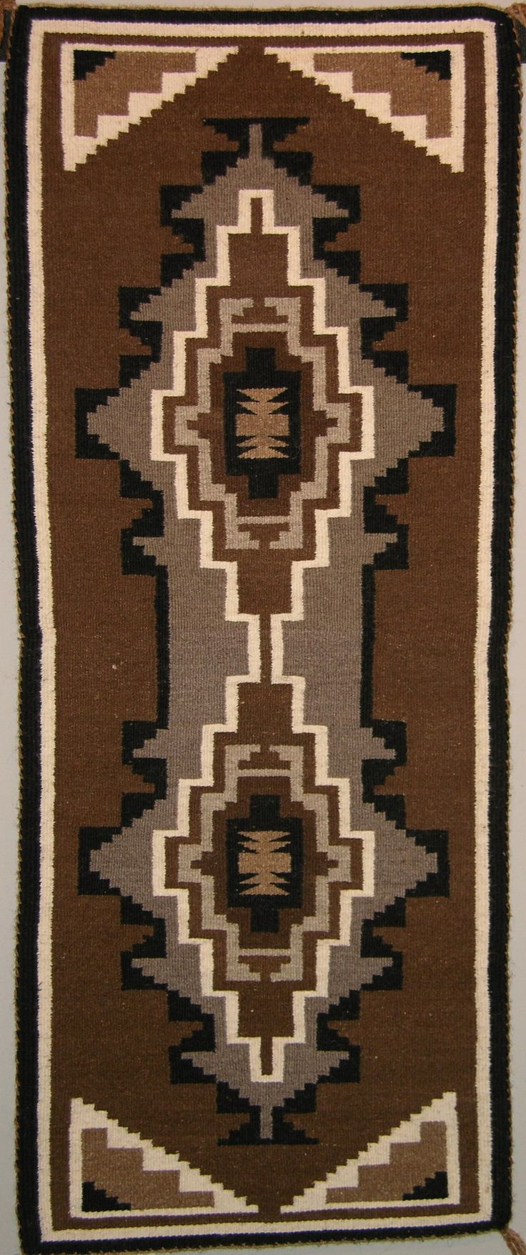 N 4642 Frances Manuelito Indian Rugsnative American