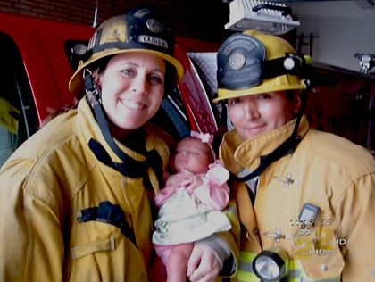They leave their families to go right into harm's way -- We look at the new ranks of women firefighters across The Southland. CBS2's Pat Harvey joins them on patrol and at home with their families.