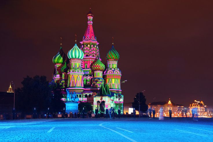 Saint Basil's Cathedral, Russia | 26 Real Places That Look Like They've Been Taken Out Of Fairy Tales