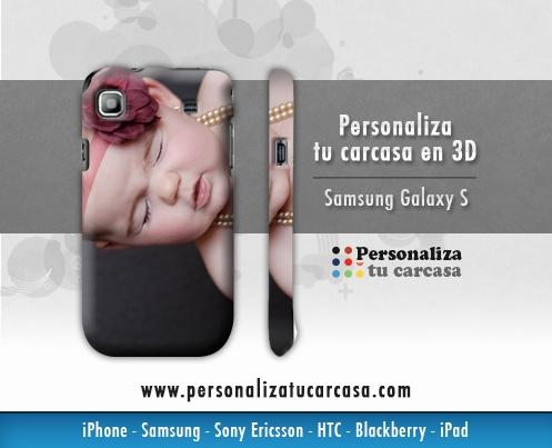 Personaliza tu Carcasa Samsung Galaxy S