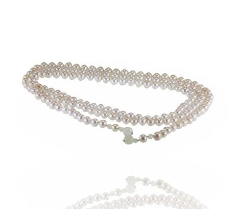 Pure Pearl™ 7-8mm Strand 120cm Opera Length Open End - White- Buy it now: http://www.australianpearldivers.com.au/collections/freshwater-pearls/products/pure-pearl-strand-18