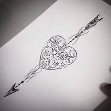 Resultado de imagem para desenho de flecha para tatuagem