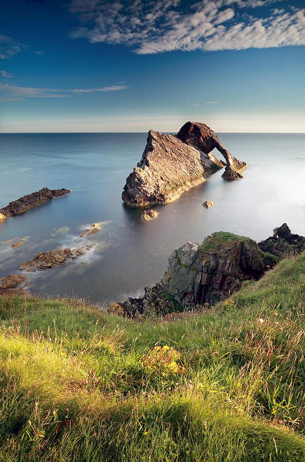 ✯ Bow Fiddle Rock - the north coast of Scotland
