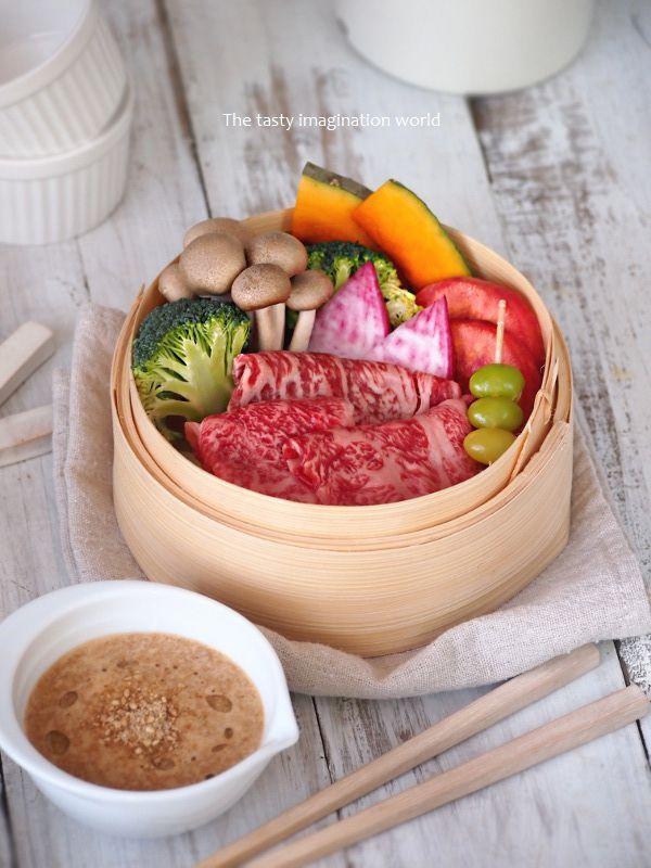 にんにく味噌のごまだれとせいろ蒸し - Simple-5han Simple-habita お洒落に簡単料理