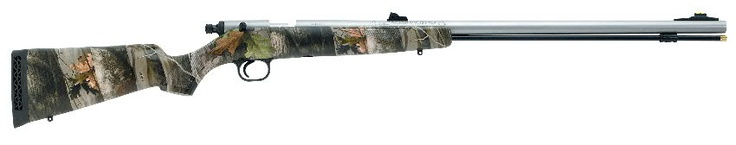 Knight's Big Horn was designed maintained in the line as a simple-to- operate striker-fired gun that could be less expensively priced than the company's bolt and other actioned rifles.