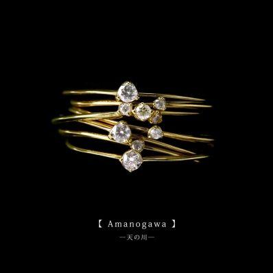結婚指輪・ジュエリー SIENA - Fashion | AMANOGAWA 天の川 7連リング