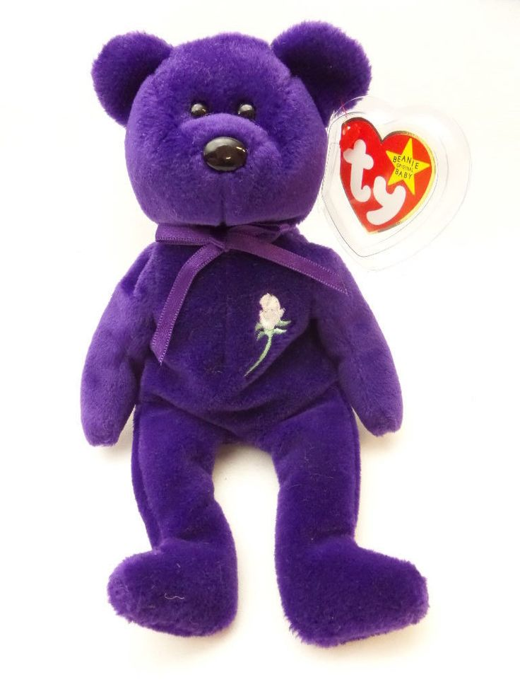Ultra RARE Princess Diana Beanie Baby 1997 PVC No Space No Number | eBay