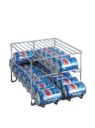 38% OFF Organize It All Chrome 24-Can Holder