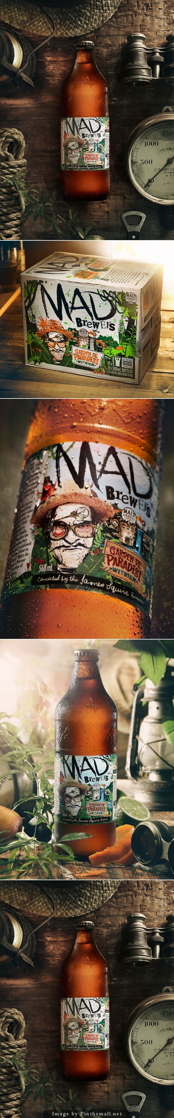 Mad Brewers' Garden De Paradisi is cool beer #packaging PD