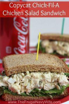 Copycat Chick-Fil-A Chicken Salad Sandwich - Make this addictive sandwich at home!