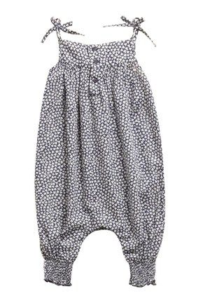 Clover Club Romper Suit - Baby Girl - French Connection