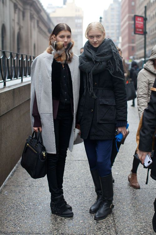 Street Style Fall 2013 New York Fashion Week