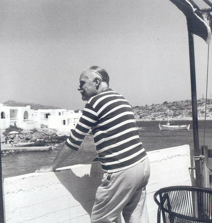 #MinosBeach Hotel #Crete #holidays #summer in #1960