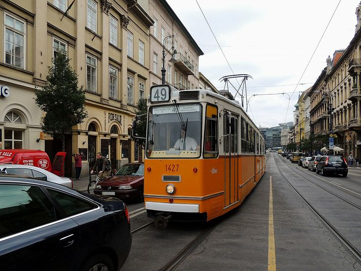 #tram Type of 'ICS' at Line 49 in #Budapest