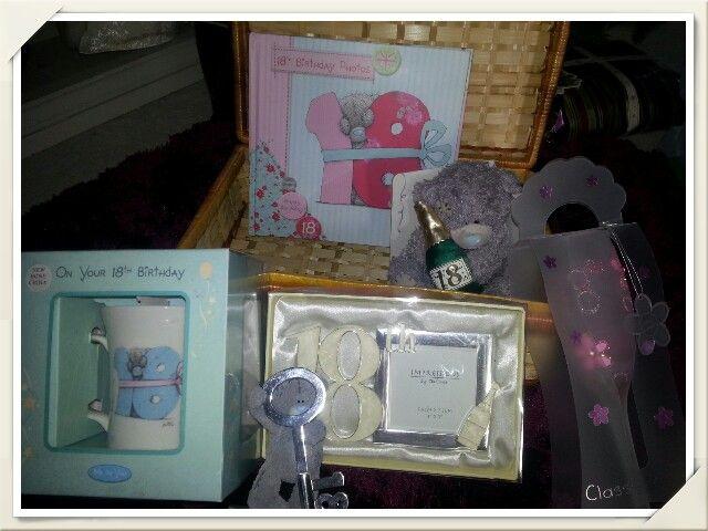 18th Birthday Hamper, made to order. Visit www.bespokebabyhampers.co.uk  #18th #hamper #18thbirthday #giftideas #birthday