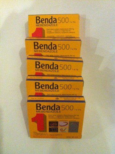(5 Tablets) Benda 500 Mebendazole Flavour , Pinworm Treatment Single Dose , Tablet As a Single Dose for Threadworm Infections, Roundworm Infections (Roundworm , Threadworm, Whipworm, Hookworm , Prnworm) Made in Thailand (1 Box / 1 Tablet). - http://www.thepuppy.org/5-tablets-benda-500-mebendazole-flavour-pinworm-treatment-single-dose-tablet-as-a-single-dose-for-threadworm-infections-roundworm-infections-roundworm-threadworm-whipworm-hookworm-prnwor/