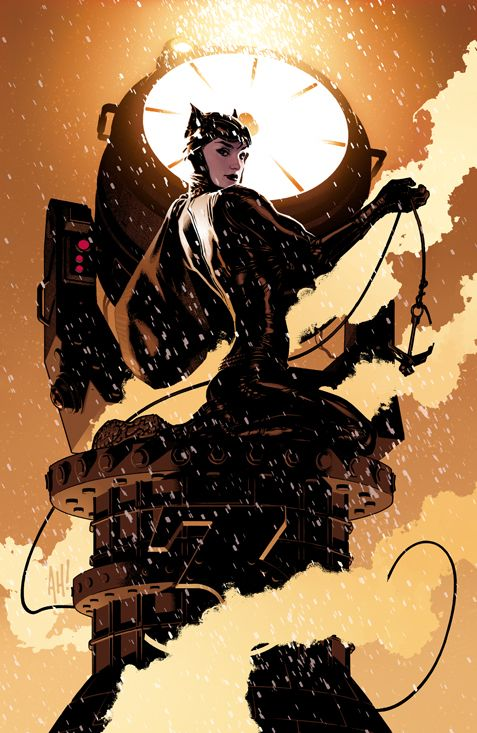 Artwork: Catwoman par Adam Hughes