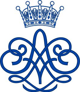 Royal Monogram of Prince Erik of Sweden