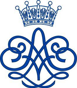 Royal Monogram of Prince Erik of Sweden