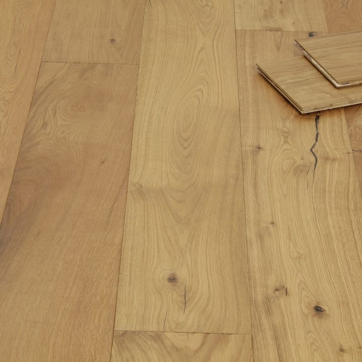 Rustic farmhouse oak wide brushed oiled engineered wood for Farmhouse rustic oak