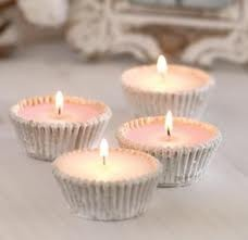 concrete cupcake candleholders