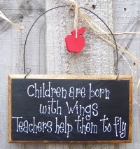 children are born with wings