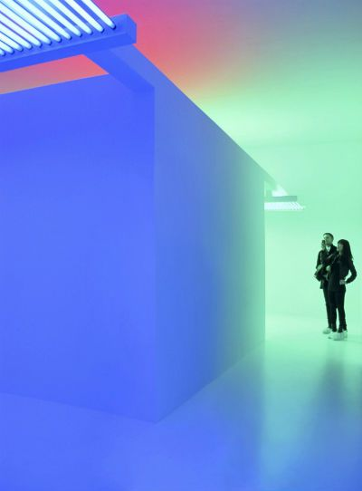 Chromosaturation - Suprasensorial. Experiments in Light, Color, and Space The Museum of Contemporary Art, LA