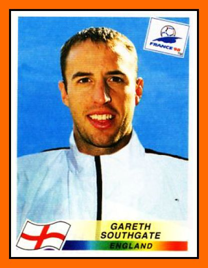 Gareth SOUTHGATE 1995–2004 England 57 Caps 2 goals Honours : With Aston Villa Football League Cup: 1996 With Middlesbrough Football League Cup: 2004