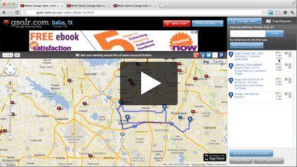 Garage Sales, Yard Sales & Estate Sales by Map | gsalr.com