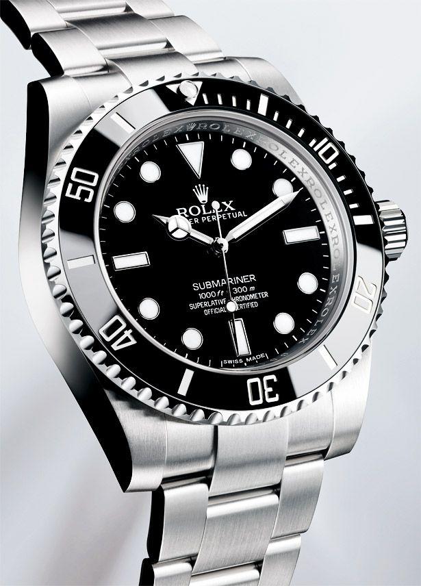 ROLEX Submariner - no date - Ref. 114060 ...repinned für Gewinner!  - jetzt gratis Erfolgsratgeber sichern www.ratsucher.de