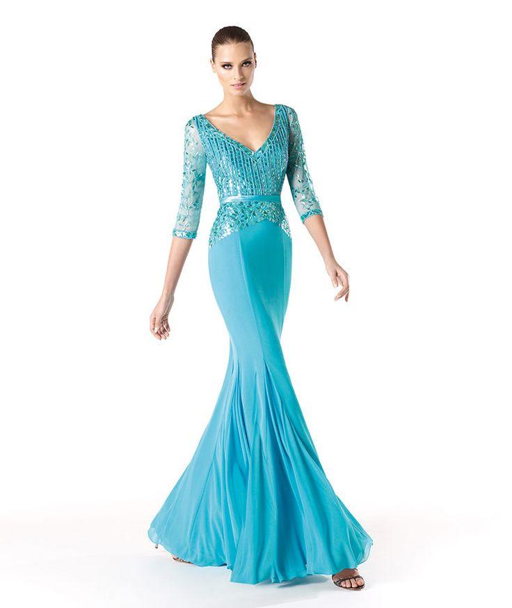 Pronovias te presenta su vestido de fiesta Rainne de la colección Madrina 2014. | Pronovias
