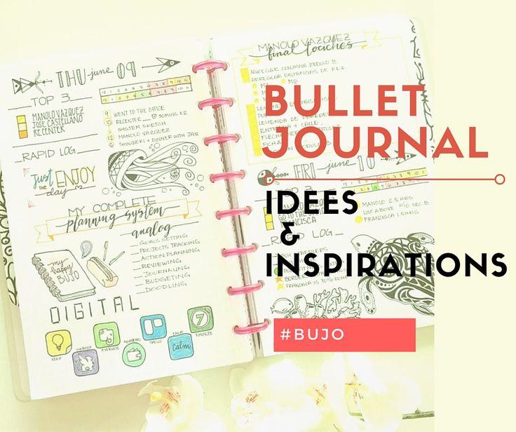 Quelques idées pour créer son propre bullet journal : clés personnalisées…