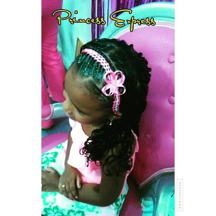 Diadema infantil trenza