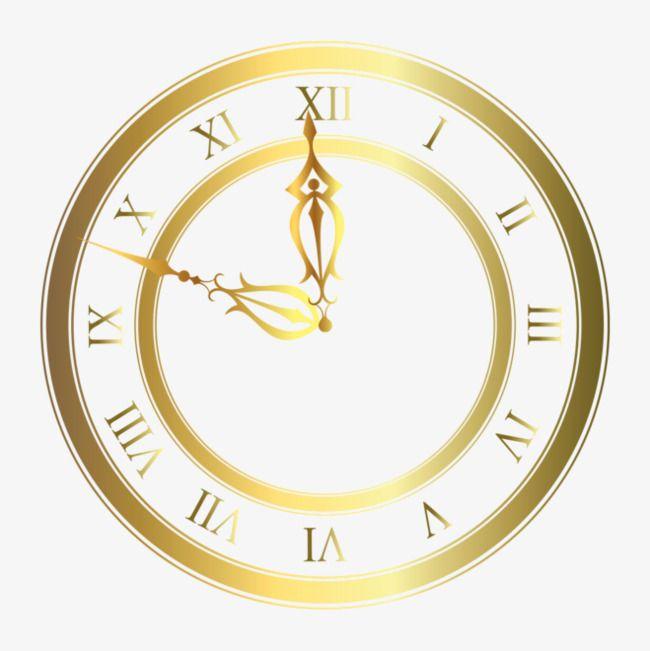 Gold Clock Clock Clipart Gold Clipart Gold Clock