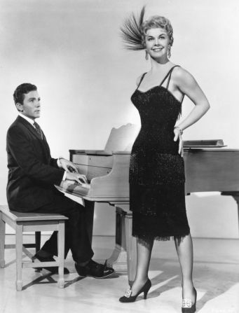 Doris Day And Cameron Mitchell In Love Me Or Leave Me