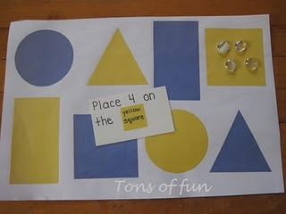 Great shape/number/counting game