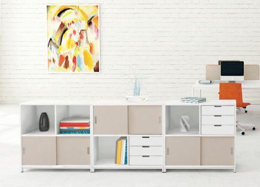 LIGHT - office cabinets.