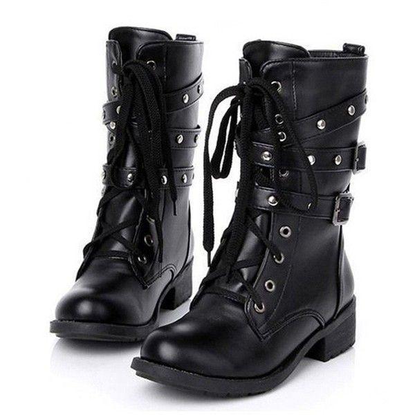 Best 25 Women S Military Boots Ideas On Pinterest