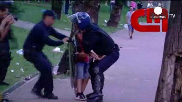 Abierta una investigación ministerial por la agresión de la policía a una familia de seguidores del Benfica