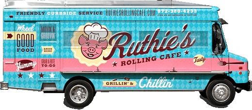 """Ruthie's Rolling Cafe """"Great Grilled Cheese"""", Dallas, TX - Food Trucks"""