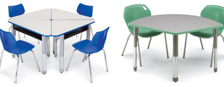 Collaborative Classroom Tables : Interchange collaborative classroom furniture by smith
