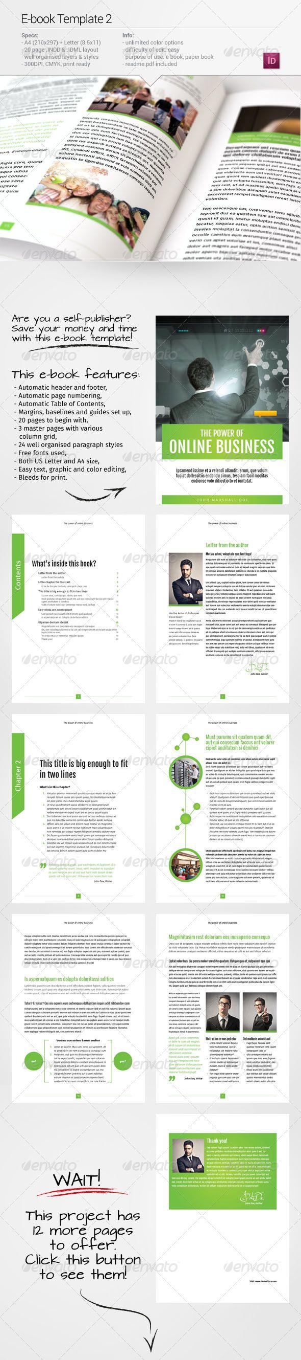 The 96 best E-Publishing Templates images on Pinterest | Font logo ...