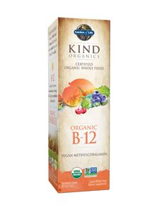 KIND Organics Vegan Vitamin B 12 Spray is in the form of Vegan Methylcobalamin B12. Not all B12 is vegan and few are in the form of Methylcobalamin B12.