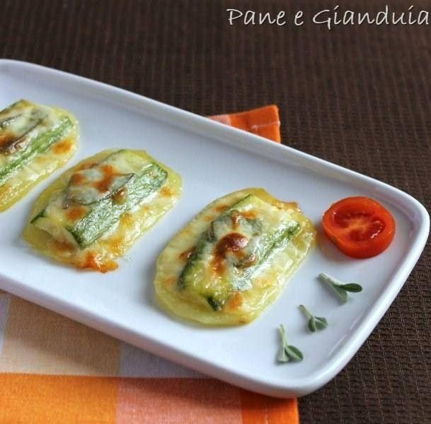 Saltimbocca patate e zucchine
