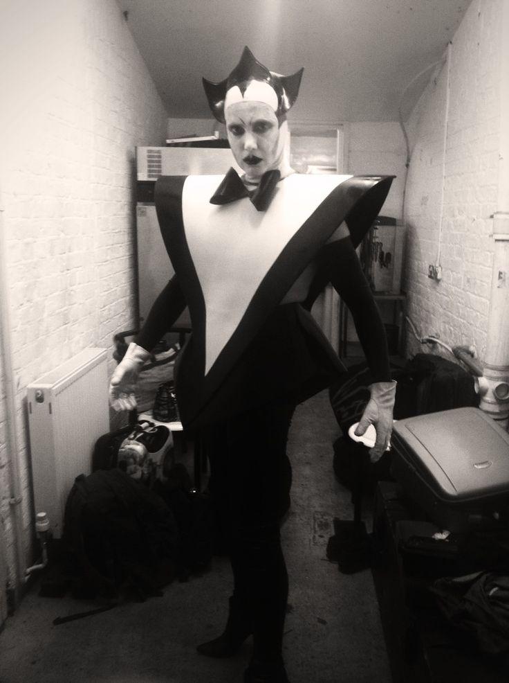 Klaus Nomi vs Le Pustra Latex costume by Am Statik Latex
