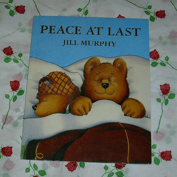 Peace At Last Jill Murphy Children's Vintage by WelshGoatVintage